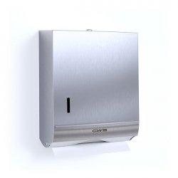 Диспенсер листовых полотенец CWS Stainless Steel Paper Slim