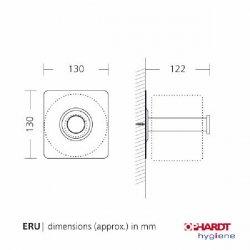 Универсальный диспенсер / держатель туалетной бумаги SanTRAL ERU E