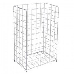 Paper Basket Stainless Steel 60L